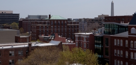 View from Duques Hall