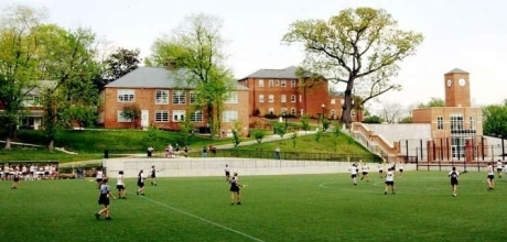 Mount Vernon Campus University Field View
