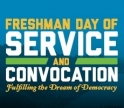Freshmen Day of Service Promotion