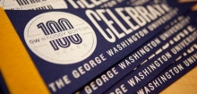 100 Years in Foggy Bottom Pennant Image