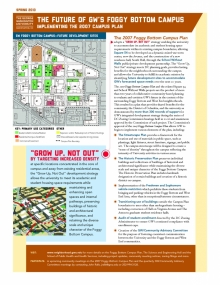 2007 Foggy Bottom Campus Plan Fact Sheet
