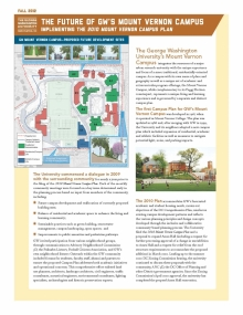 Mount Vernon Campus Plan Promotion