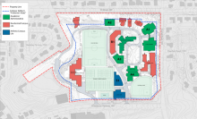 2010 Mount Vernon Campus Plan Map