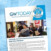 GW Today Neighbors Edition Cover Page