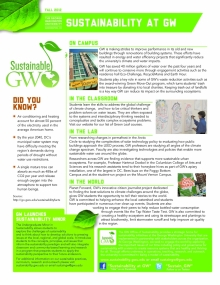 Sustainability Fact Sheet