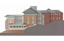 Project Rendering - East Elevation