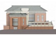 Project Rendering - South Elevation