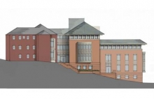 Project Rendering - West Elevation