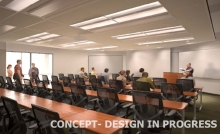 SPHHS 40 Person Classroom Concept Image