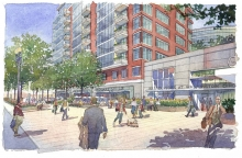 Square 54 I St West View Concept Image