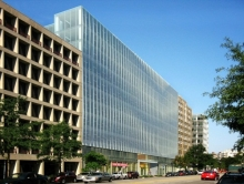 Square 75 Concept View from Corner of 22nd Street and Pennsylvania Avenue