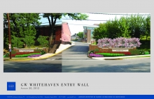 Whitehaven Parkway Entrance Concept Rendering