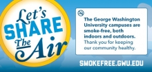 Smoke Free Message
