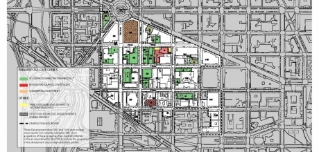 Develop Maps for the Campus Plan